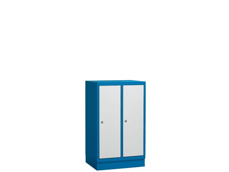 Garderobenschrank 1,05 m hoch-300 mm-1 Abteil-1 Fachreihe